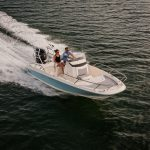 Boston Whaler 210 Dauntless Running
