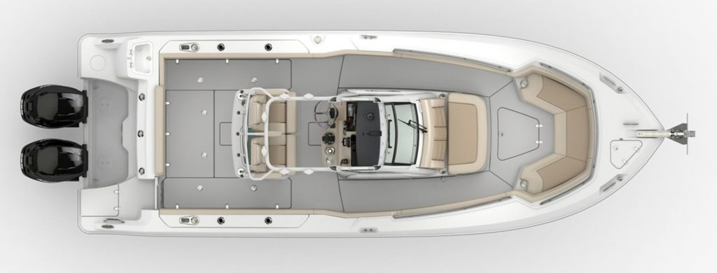 Boston Whaler 250 Outrage Specifications