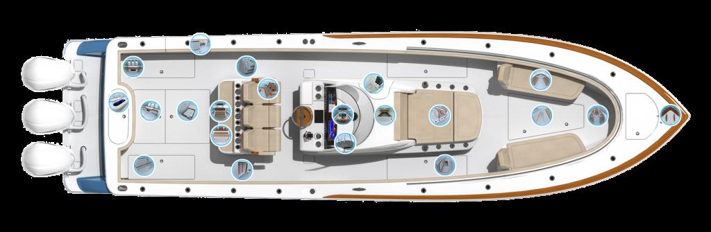 Valhalla Boatworks V 37 Accommodations