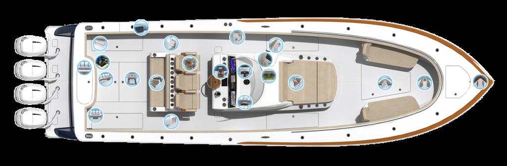 Valhalla Boatworks V 41 Accommodations