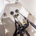 Pursuit S 408 Rod Stowage