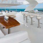 Ocean Alexander 100 Flybridge Upper Deck