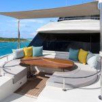 Ocean Alexander 100 Flybridge Bow Seating