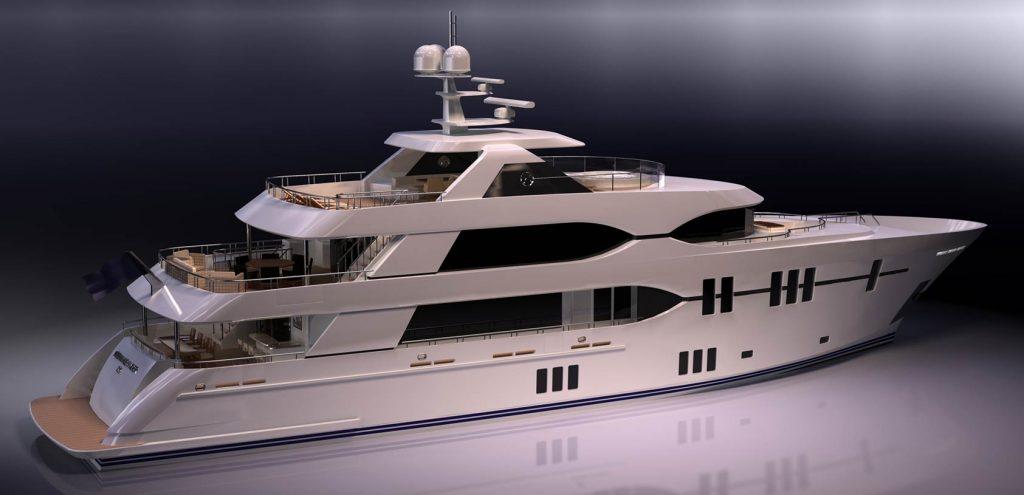 Ocean Alexander 135 Mega Yacht