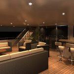 Ocean Alexander 155 Mega Yacht Lounge