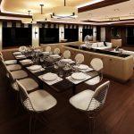 Ocean Alexander 155 Mega Yacht Dining