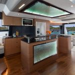 Ocean Alexander 70 Motoryacht Galley