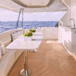 Ocean Alexander 84R Enclosed Seating