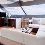 Ocean Alexander 84R Enclosed lounge