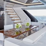 Ocean Alexander 90R Enclosed Stern Seating