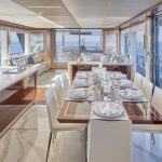 Ocean Alexander 90R Enclosed Dining