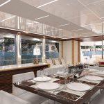 Ocean Alexander 90R Open Dining