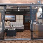 Ocean Alexander 90R Open Sliding Door