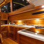 Grand Banks 54 galley