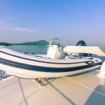Grand Banks 60 Skylounge Lifeboat