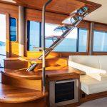 Grand Banks 60 Skylounge Steps