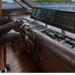 Ocean Alexander 118 Mega Yacht Helm