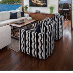 Ocean Alexander 118 Mega Yacht Lounge