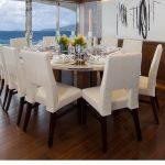 Ocean Alexander 118 Mega Yacht Dining