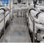 Ocean Alexander 118 Mega Yacht Engine Room