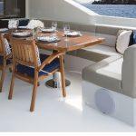 Ocean Alexander 118 Mega Yacht Settee