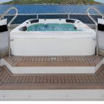 Ocean Alexander 118 Mega Yacht Jacuzzi