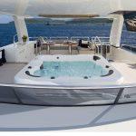 Ocean Alexander 118 Mega Yacht Sun Deck