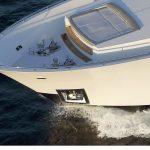 Ocean Alexander 118 Mega Yacht Bow