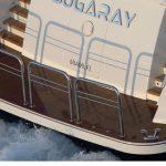 Ocean Alexander 118 Mega Yacht Stern
