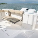 Pursuit OS 355 Stern Seating