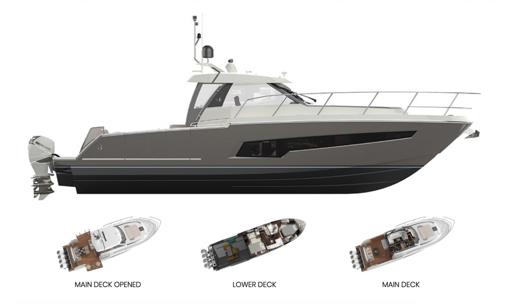 Ocean Alexander 45 Divergence Coupe Specifications