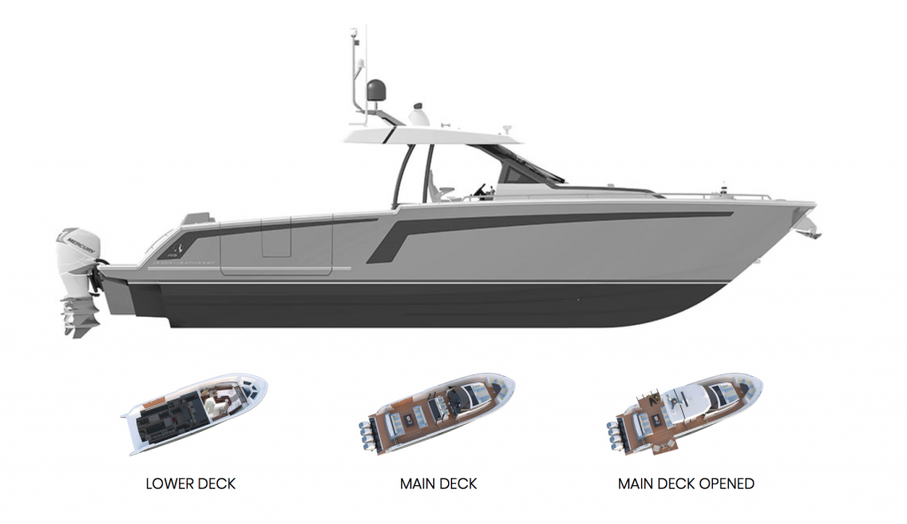 Ocean Alexander 45 Divergence Sport Specifications