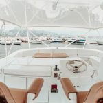 is a Hatteras 68 Convertible Yacht For Sale in San Diego-17