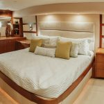 is a Hatteras 68 Convertible Yacht For Sale in San Diego-39
