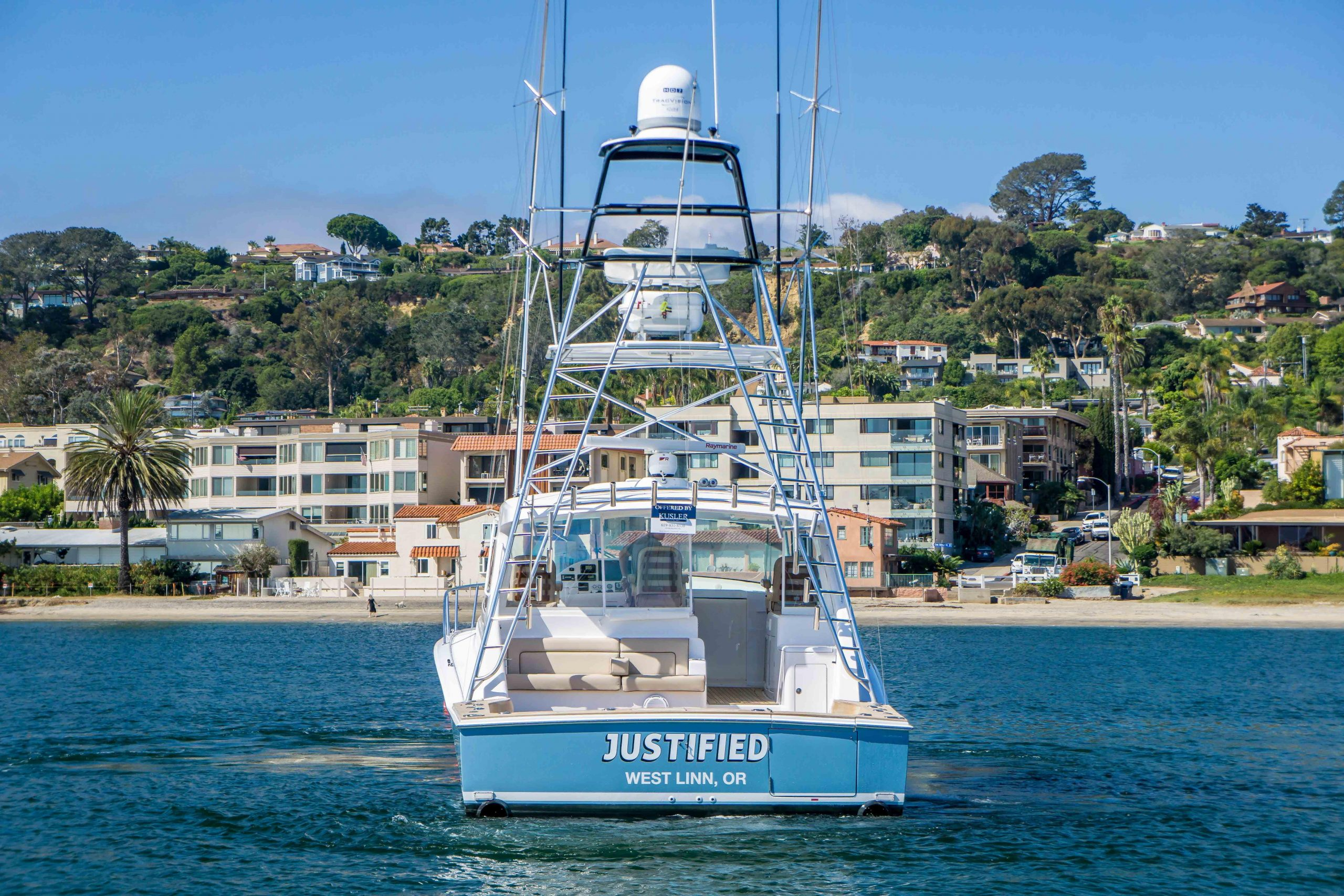 JUSTIFIED is a Hatteras 45 Express Sportfish Yacht For Sale in San Diego-0