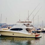 is a Hatteras 68 Convertible Yacht For Sale in San Diego-43
