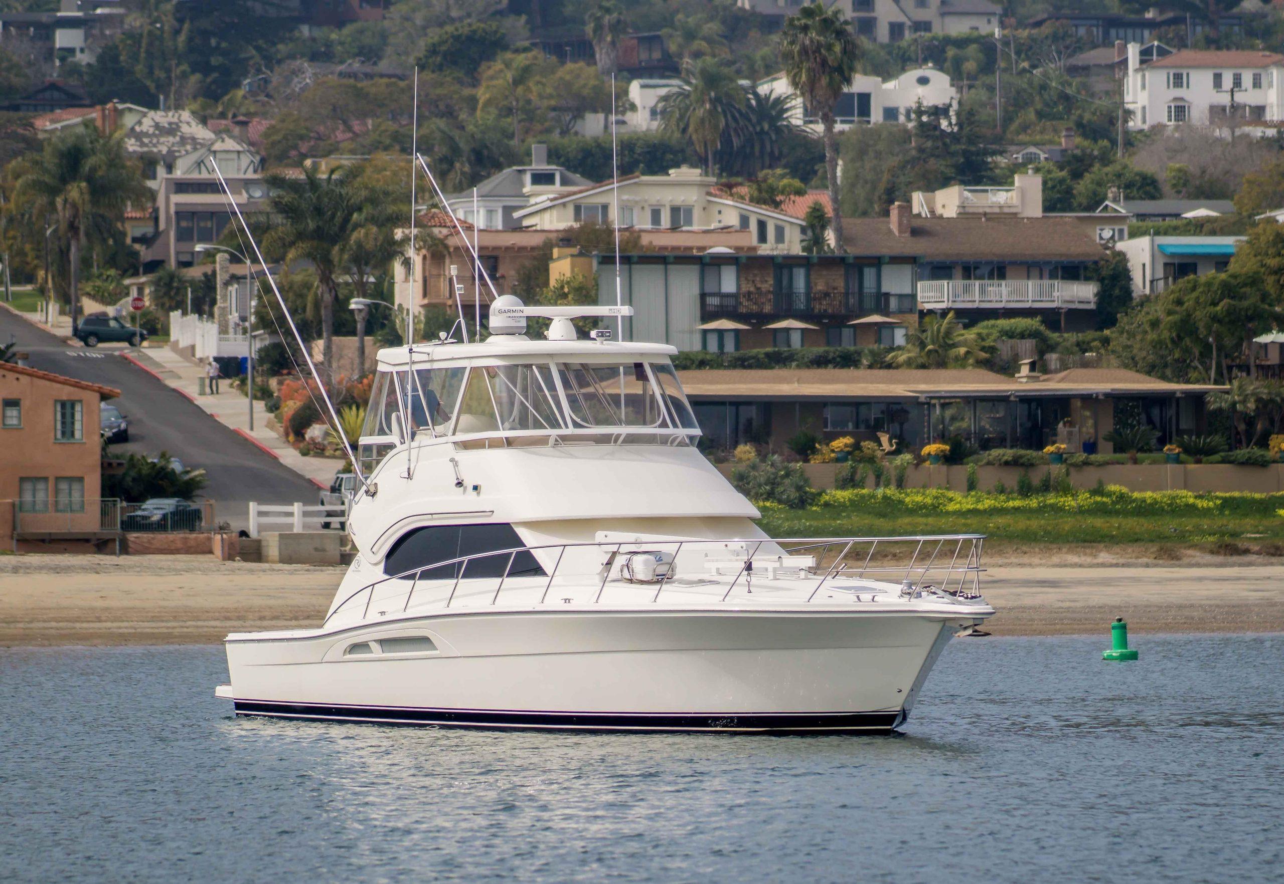 High Bid is a Riviera 47 Open Flybridge G2 Yacht For Sale in San Diego-0
