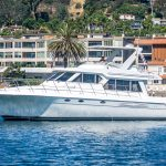 The Lounge is a Navigator 44 Pilothouse Yacht For Sale in San Diego-30