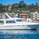 The Lounge is a Navigator 44 Pilothouse Yacht For Sale in San Diego-0