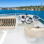 The Lounge is a Navigator 44 Pilothouse Yacht For Sale in San Diego-6