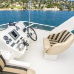 The Lounge is a Navigator 44 Pilothouse Yacht For Sale in San Diego-9