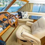 The Lounge is a Navigator 44 Pilothouse Yacht For Sale in San Diego-11