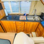 The Lounge is a Navigator 44 Pilothouse Yacht For Sale in San Diego-13