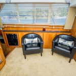 The Lounge is a Navigator 44 Pilothouse Yacht For Sale in San Diego-17