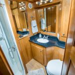 The Lounge is a Navigator 44 Pilothouse Yacht For Sale in San Diego-22