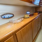 The Lounge is a Navigator 44 Pilothouse Yacht For Sale in San Diego-23