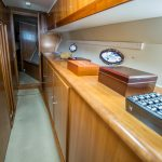 The Lounge is a Navigator 44 Pilothouse Yacht For Sale in San Diego-24