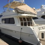 Moving to San Diego is a McKinna 57 Pilothouse Yacht For Sale in San Diego-1