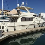 Moving to San Diego is a McKinna 57 Pilothouse Yacht For Sale in San Diego-2