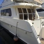 Moving to San Diego is a McKinna 57 Pilothouse Yacht For Sale in San Diego-6